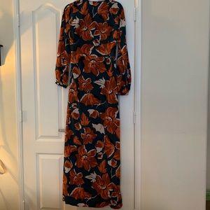 6d8f48c6a Vici Dresses | Tangerine Tropics Wrap Maxi Dress | Poshmark